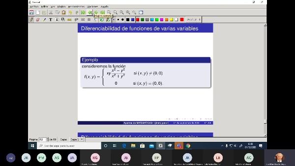 Matematicas 1 GITI grupo A  Clase 24