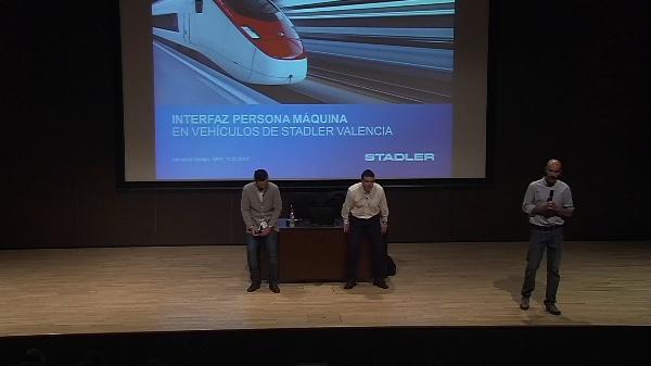 Interfaz persona máquina en vehículos de Stadler Valencia