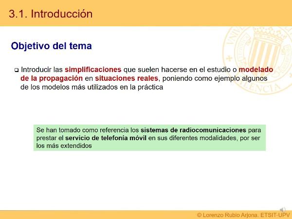 Tema 3. Modelos de propagación I