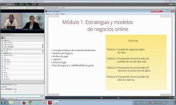 Presentación para Reunitic del Titulo Universitario en Comercio Electrónico