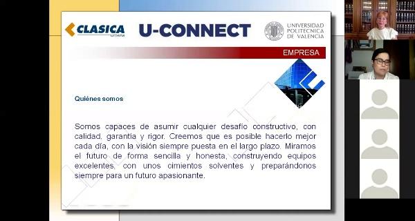 U-CONNECT. Webinar Clásica Urbana 2020.
