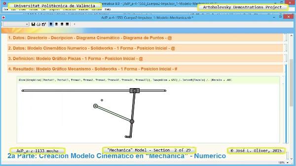 Simulación Mecanismo a-z-1133 con Mechanica - 02 de 29