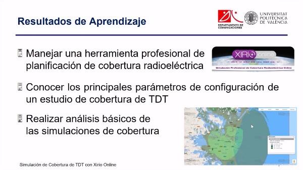Simulación de Cobertura de Televisión Digital Terrestre (TDT)