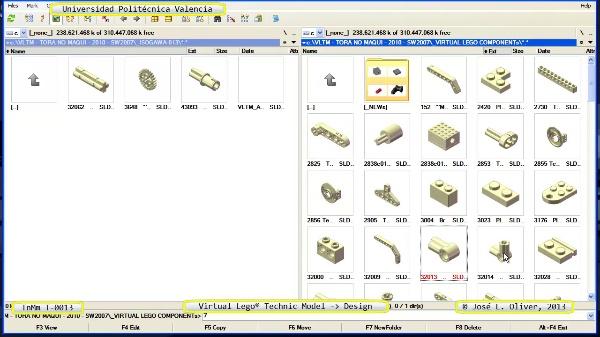 Creación Virtual Modelo Lego Technic - Isogawa - T-0013 ¿ no audio