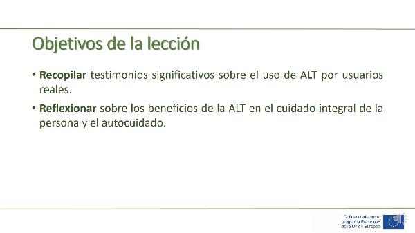 Unidad 2 - Lección 5 - Ejemplos de uso de ALT