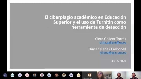 2020 - El ciberplagio en la Educación Superior PARTE 1