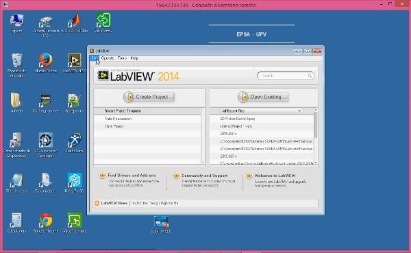 Creación de Programas Labview