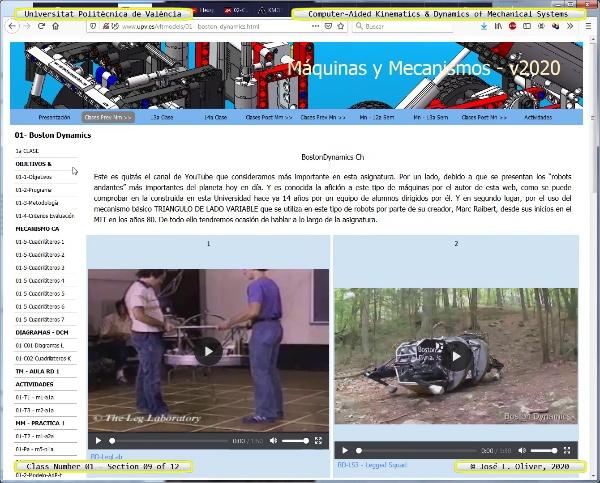 Mecánica y Teoría de Mecanismos ¿ 2020 ¿ MM - Clase 01 ¿ Tramo 09 de 12