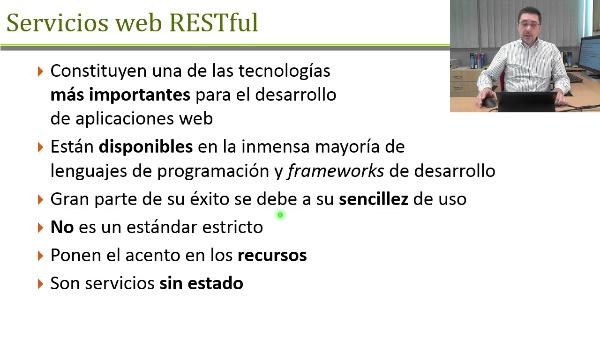 Servicios web RESTful
