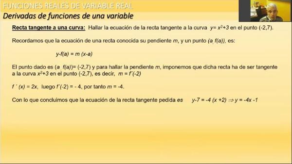 M1-ELE-142 Derivada. interpretación Geométrica