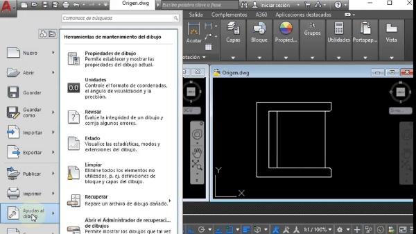 AutoCAD 2018. Inserción de un archivo de AutoCAD en otro