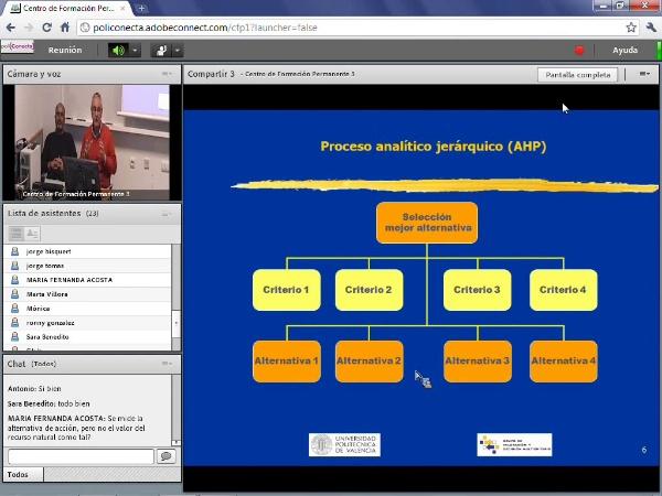 Proceso analítico jerárquico. AHP. 2ª parte