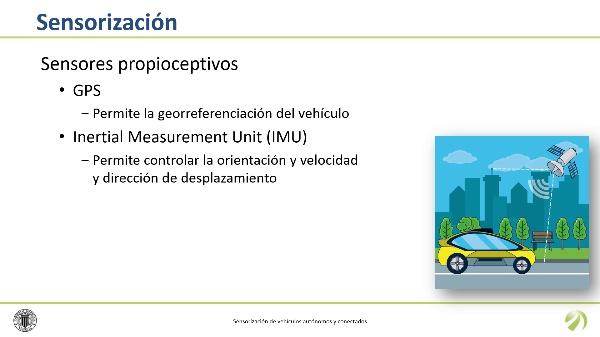 Sensorización de vehículos autónomos y conectados