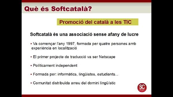 Connecta'l al valencià: Presentacions Softvalencia i Apertium