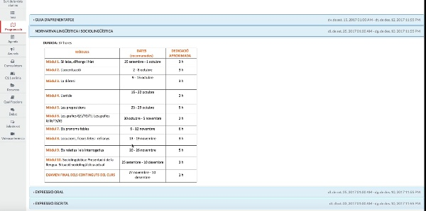 Espai C.1.1 valencià en línia 17-18