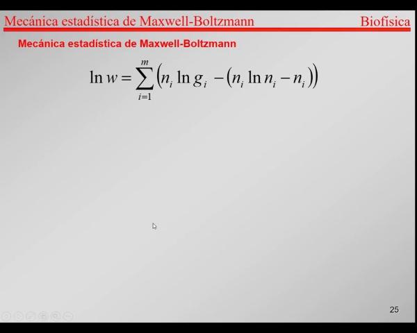 6.-Física Estadística T24-T26- Maximización de los Estados de un sistema