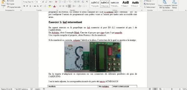 PL8 ATMEGA328 Ports (1) - Exercici 1 - G222 Electrònica Digital 2020