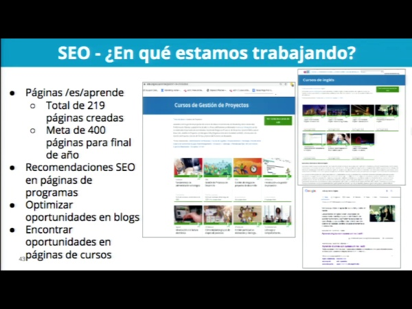 SPOC Gestión de MOOC. Marketing de edX. SEO. Iniciativas edX