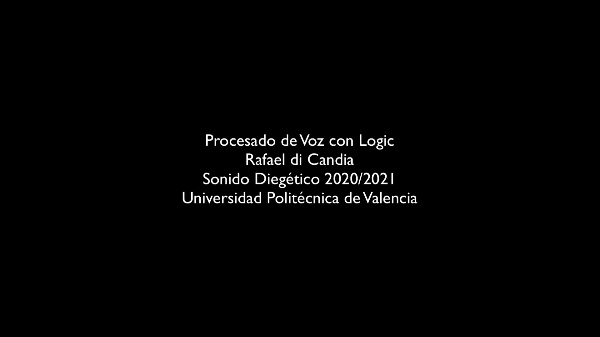 Procesado de Voz Con Logic_EntrevistaRadiofonica_diCandia