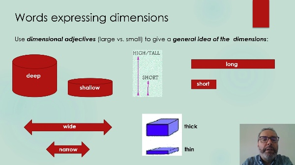Technical English-DIMENSIONS AND MEASUREMENTS
