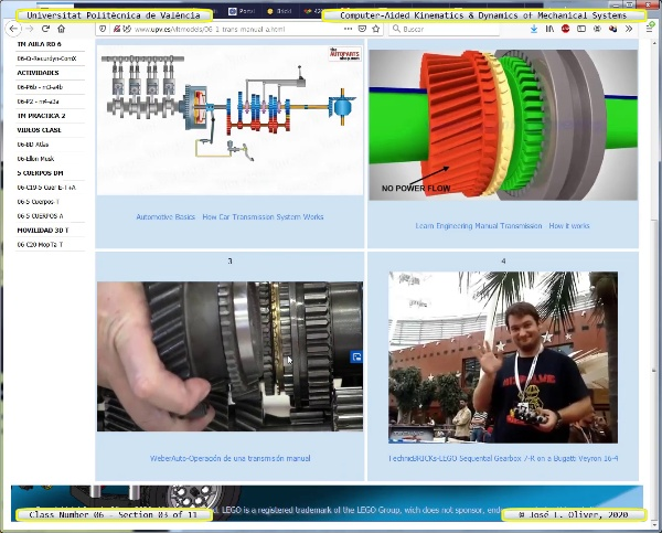 Mecánica y Teoría de Mecanismos ¿ 2020 ¿ MM - Clase 06 ¿ Tramo 03 de 11