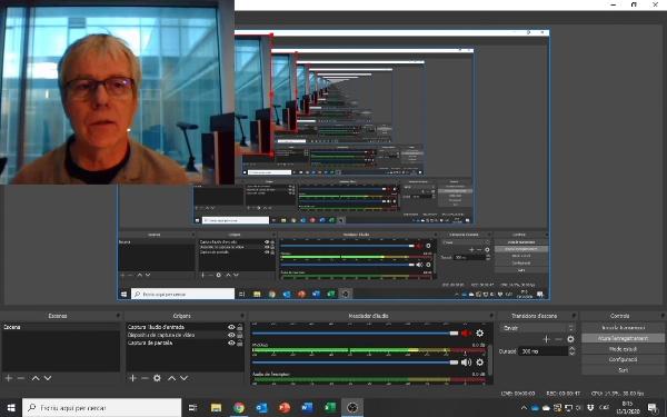 Instrucciones sobre cómo generar un screencast