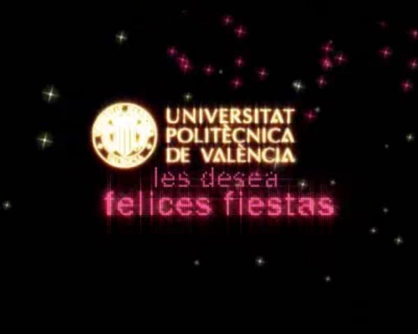 Felicitación del rector 2008