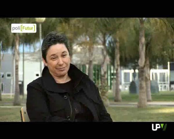 Entrevista a Ana Gimeno y a David Perry en el programa Polifutur