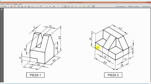 Dibujo 3D - Ordenes básicas en Inventor