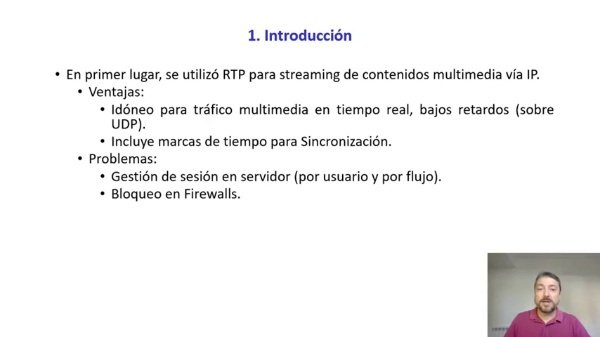 Streaming del escritorio del PC mediante el software VLC