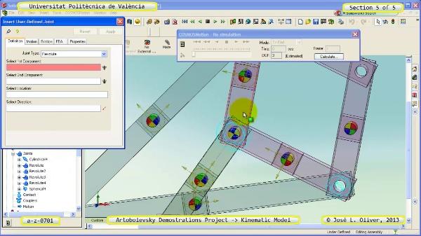 Simulación Mecanismo a_z_0701 con Cosmos Motion - 5 de 5