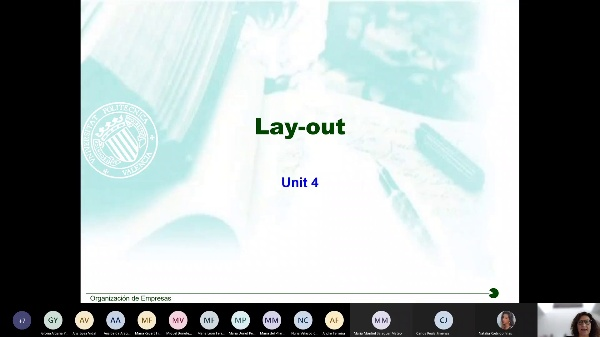 UNIT 4: Lay out