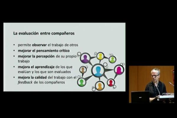 INRED2016. Evaluación entre compañeros de la comunicación oral efectiva - José M. Meseguer