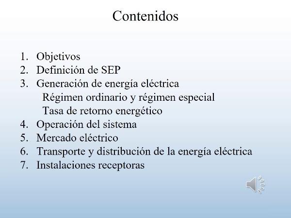 TEE_UD3_T3_Sistema Eléctrico de Potencia