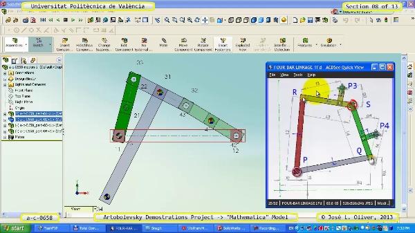 Solución Cinemática Simbólica a_c_0658 con Mathematica -B- 08 de 13