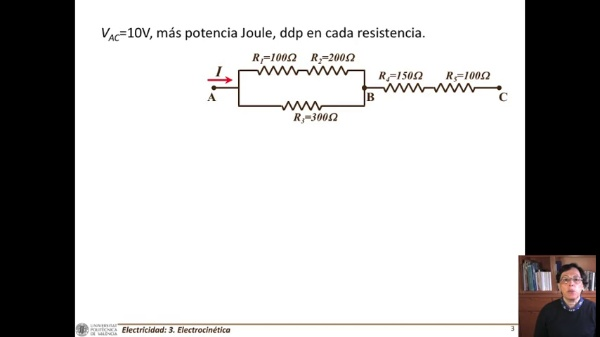 Potencia eléctrica. ley de Joule