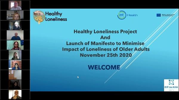 Healthy Loneliness Manifesto Webinar