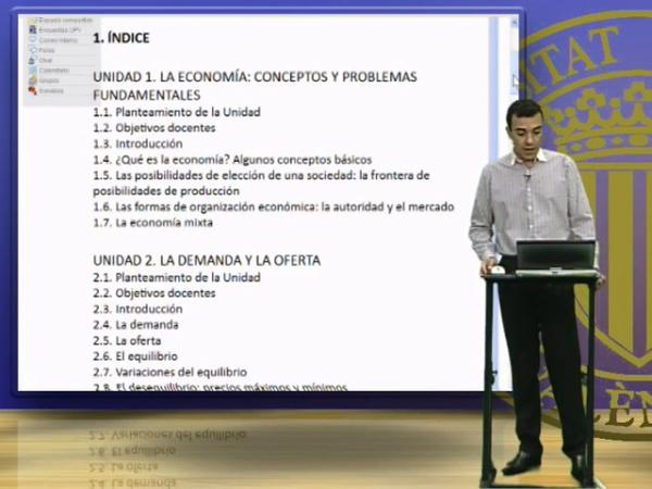 INTRODUCCIÓN A LA ECONOMÍA 1 (1º CURSO)