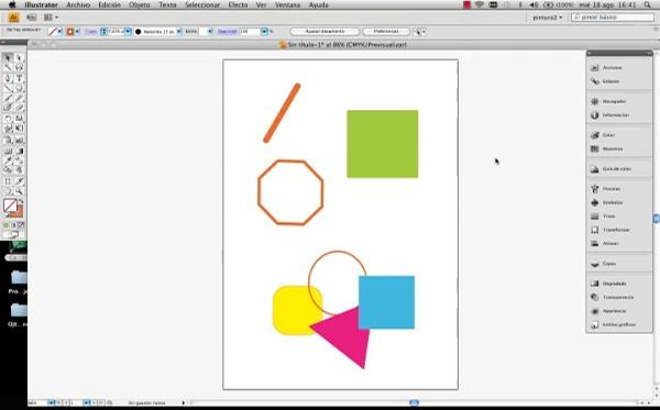 Adobe Illustrator Herramienta borrador