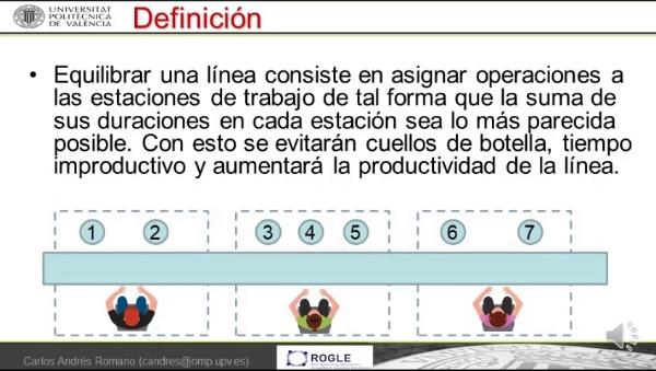 Definicion y tipos de equilibrado de lineas