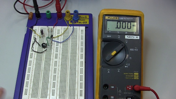 Efectos de la polarización de un BJT en un amplificador