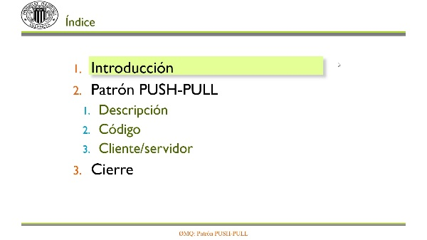 ZeroMQ: Patrón PUSH-PULL