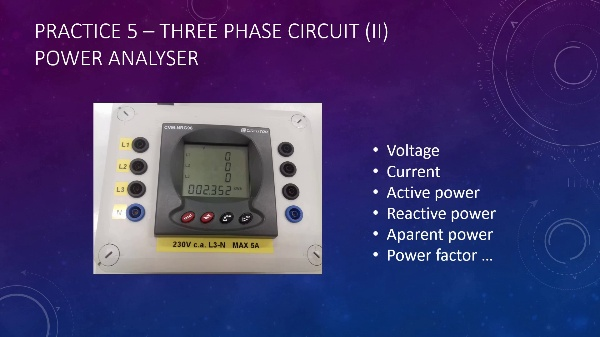 Electrical Engineering Power in 3 phase circuits