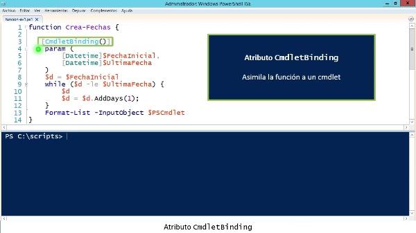 PowerShell: Funciones avanzadas