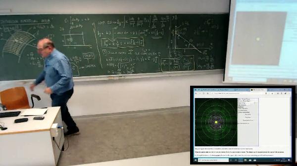 Física 1. Lección 4. Caso gráfico interacción de 2 cargas