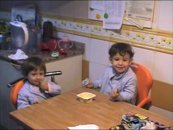 Jaime y Ana comiendo (prueba)