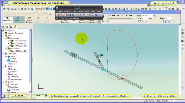 Simulación Mecanismo a_4_0963 con Cosmos Motion - 3 de 4
