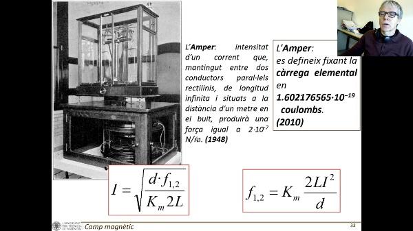 T4E: Forces entre corrents paral·lels V