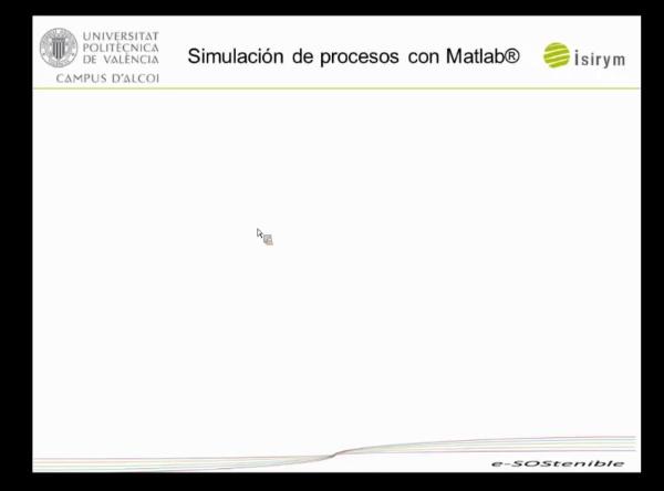 Webinar-1. Simulación de Procesos con Matlab