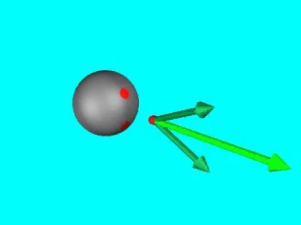 GaussE_1: Demostración de la dirección y el sentido del campo eléctrico creado por una esfera conductora